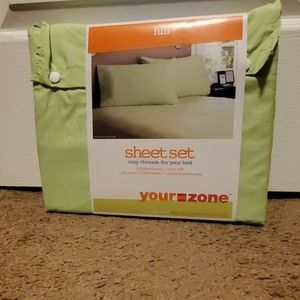 Lime Full Size Sheets